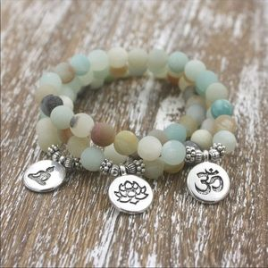 Jewelry - Set of 3 Yoga Bracelets